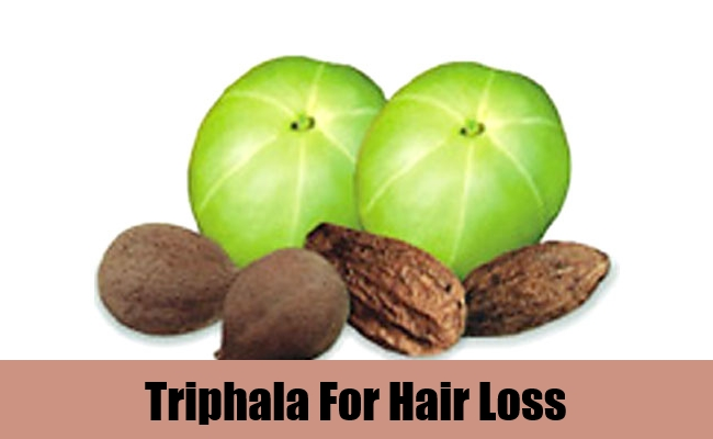 Triphala For Hair Loss