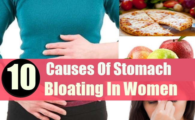 Cause Of Stomach Bloating In Women