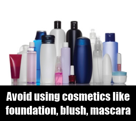 Avoid Cosmetics