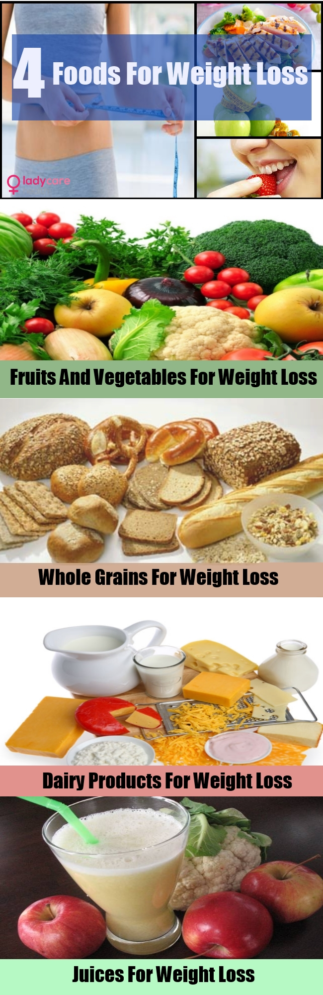 4 Best Foods For Weight Loss