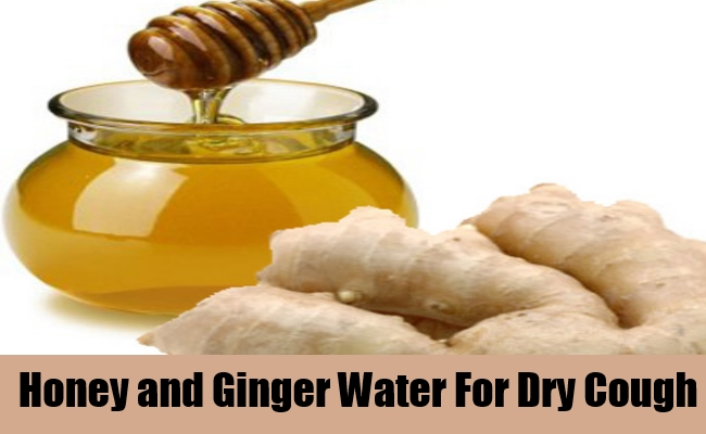 Honey and Ginger Water