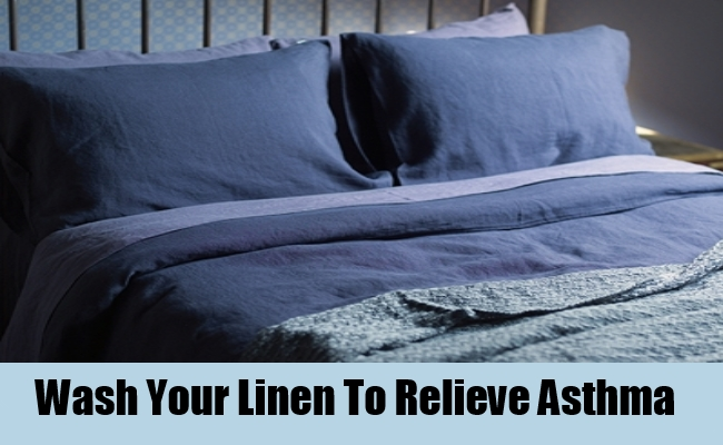 Wash Your Linen To Relieve Asthma