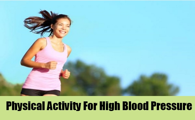 Physical Activity For High Blood Pressure