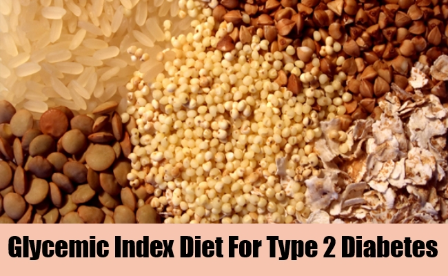 Glycemic Index Diet For Type 2 Diabetes