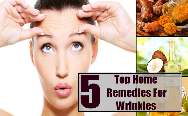 top 5 home remedies for wrinkles natural treatments cure for