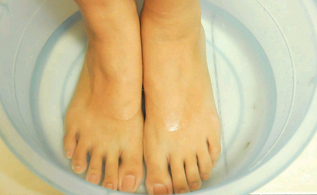 Soaking Feet In Water