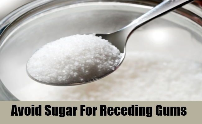 Avoid Sugar For Receding Gums