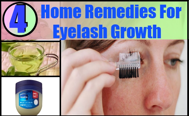 Home Remedies For Eyelash Growth