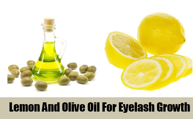 Lemon And Olive Oil For Eyelash Growth