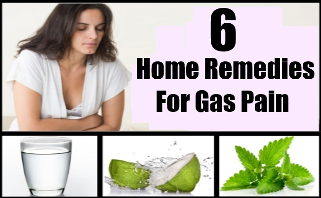 Top 6 Home Remedies For Gas Pain Natural Remedy Treatments Cure