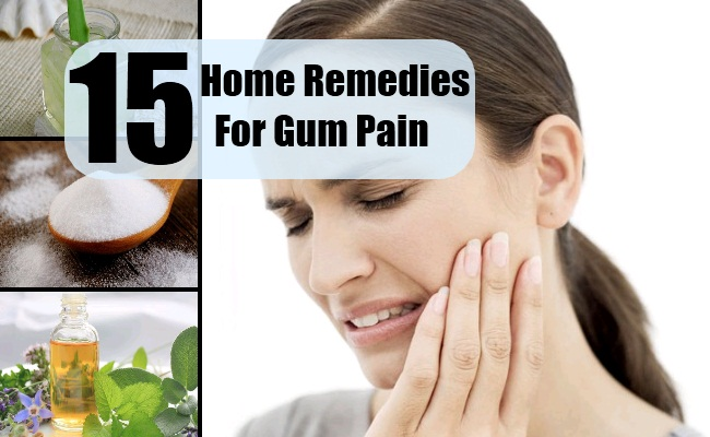 Home Remedies For Gum Pain