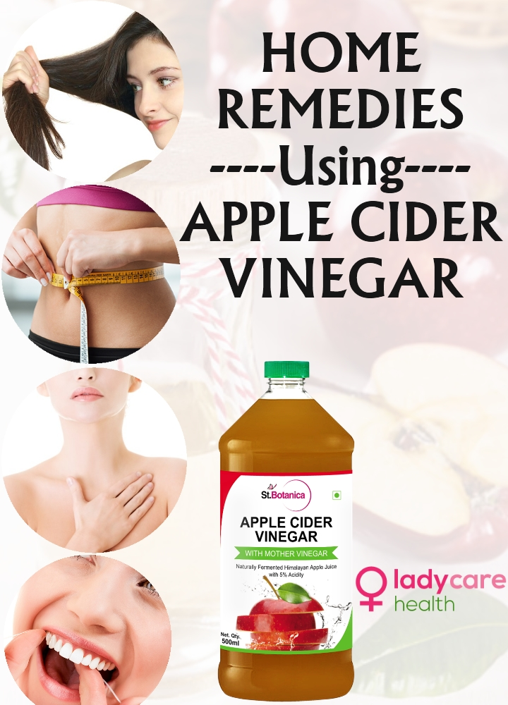 Home Remedies Using Apple Cider Vinegar