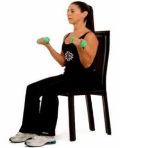 Bicep Curls With Dumbbell