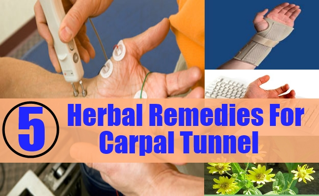 Herbal Remedies For Carpal Tunnel