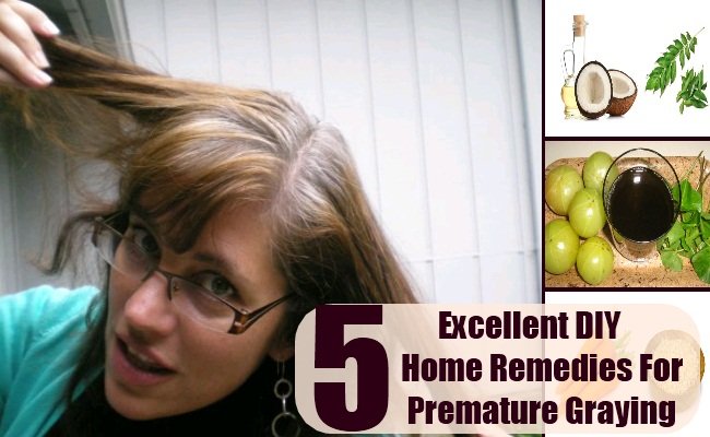 Home Remedies For Premature Graying
