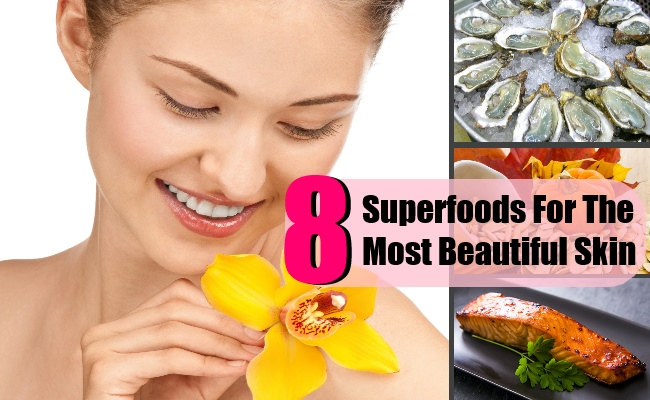 8 Top Superfoods For The Most Beautiful Skin
