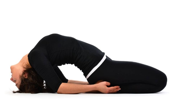 Fish Pose Or Matsyasana