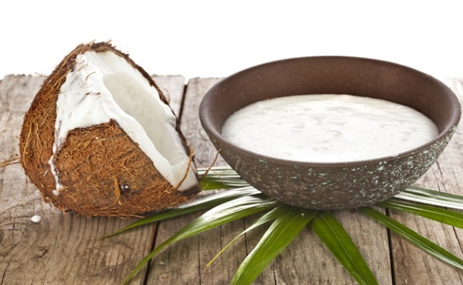 Coconut Milk Gives Relief