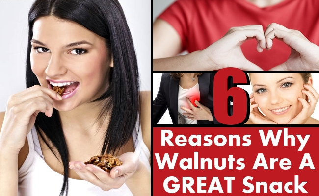 Walnuts Are A GREAT Snack