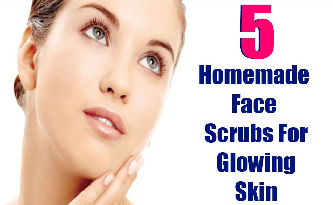 5 Homemade Face Scrubs For Glowing Skin