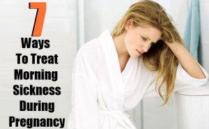 7 Simple Ways To Treat Morning Sickness During Pregnancy