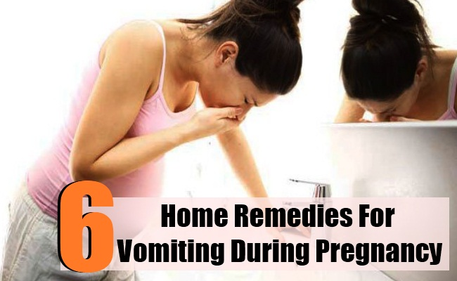 6 Home Remedies For Vomiting During Pregnancy