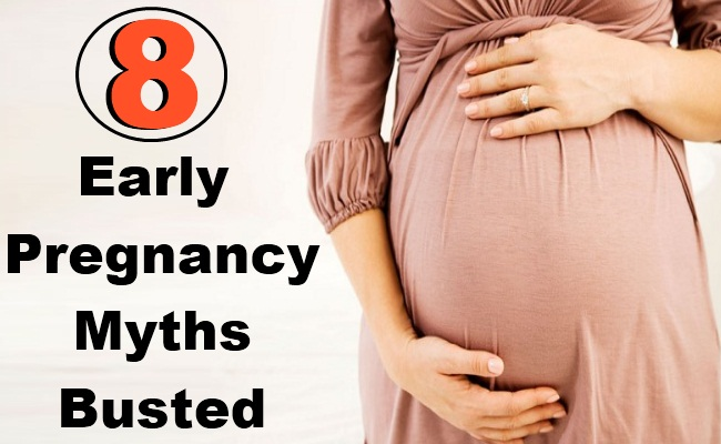 8 Early Pregnancy Myths Busted