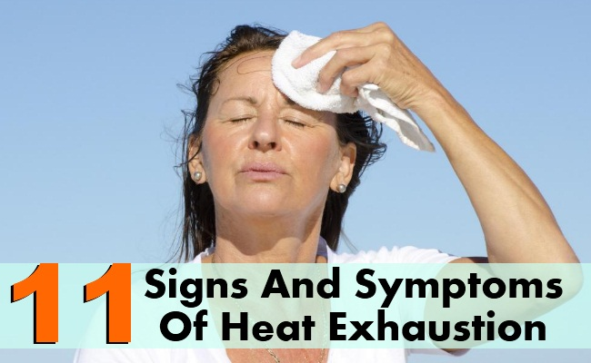 11 Signs And Symptoms Of Heat Exhaustion