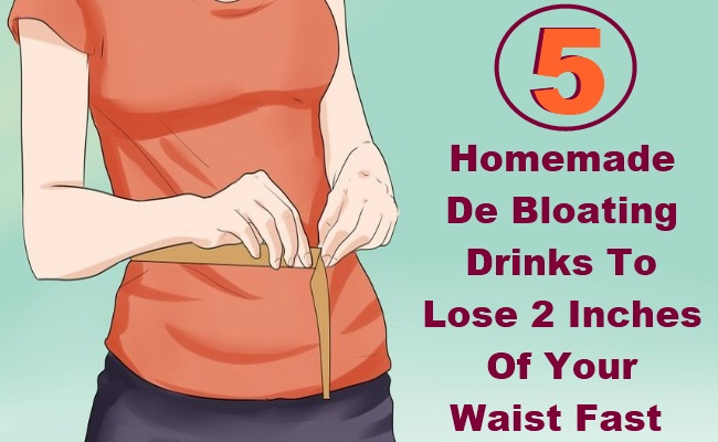 5 Homemade De Bloating Drinks To Lose 2 Inches Of Your Waist Fast
