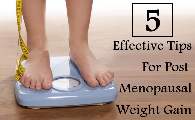 5 Effective Tips For Post Menopausal Weight Gain