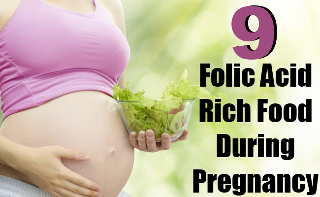 9 Folic Acid Rich Food That Can Play A Beneficial Role In Pregnancy