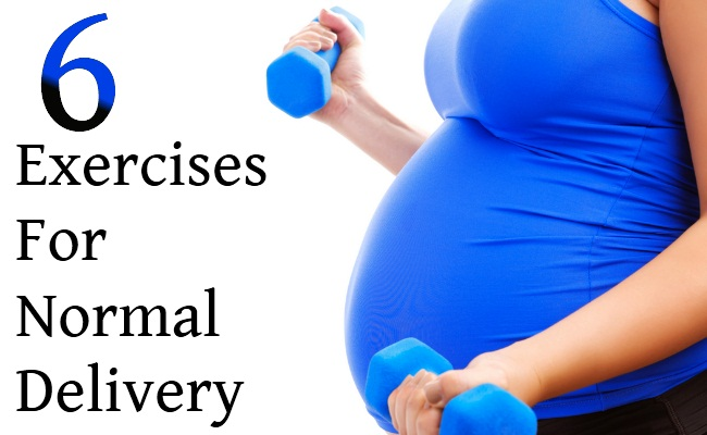 6 Exercises For Normal Delivery