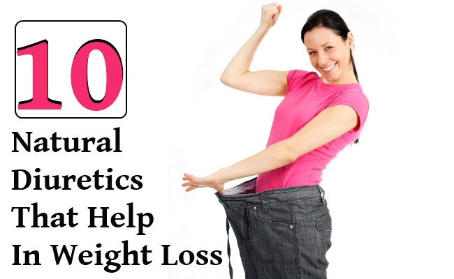 10 Amazing Natural Diuretics That Help In Weight Loss