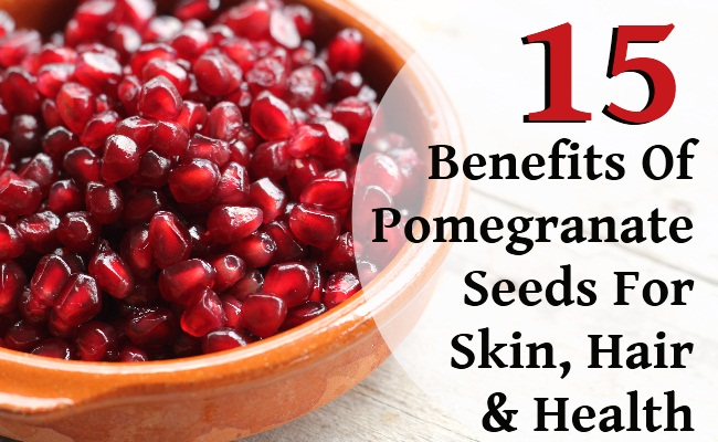 15 Surprising Benefits Of Pomegranate Seeds For Skin, Hair, And Health