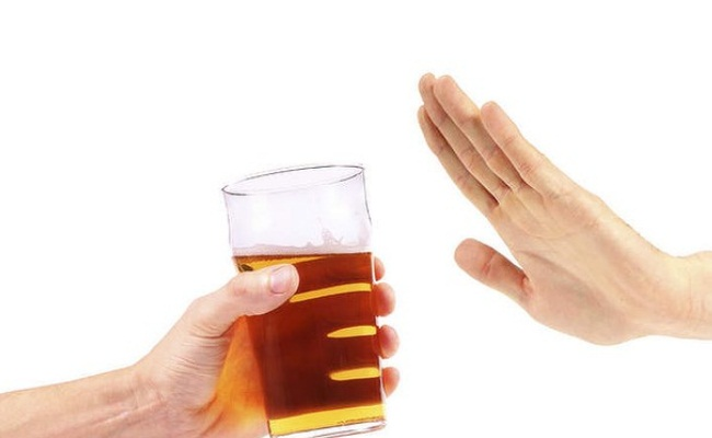Stop Taking Alcohol