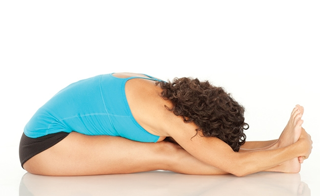 Forward Bend In Seated Pose