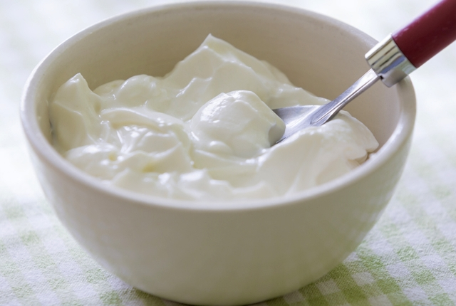 Use yogurt for the vaginal itching