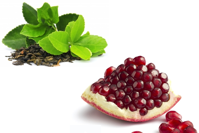 Pomegranate And Green Tea Face Mask