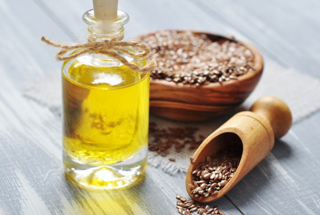 Apply Flaxseed Oil