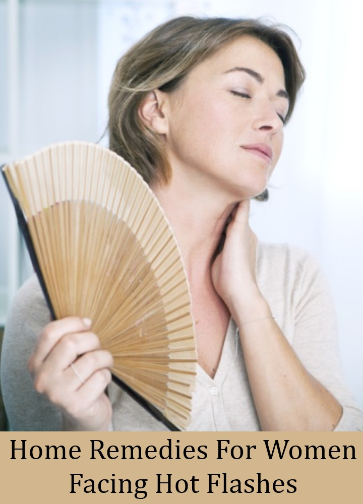 Home Remedies For Women Facing Hot Flashes