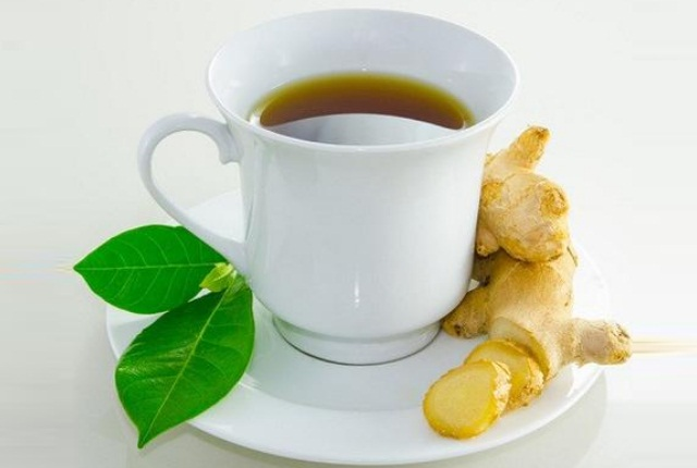 Ginger And Green Coffee Drink