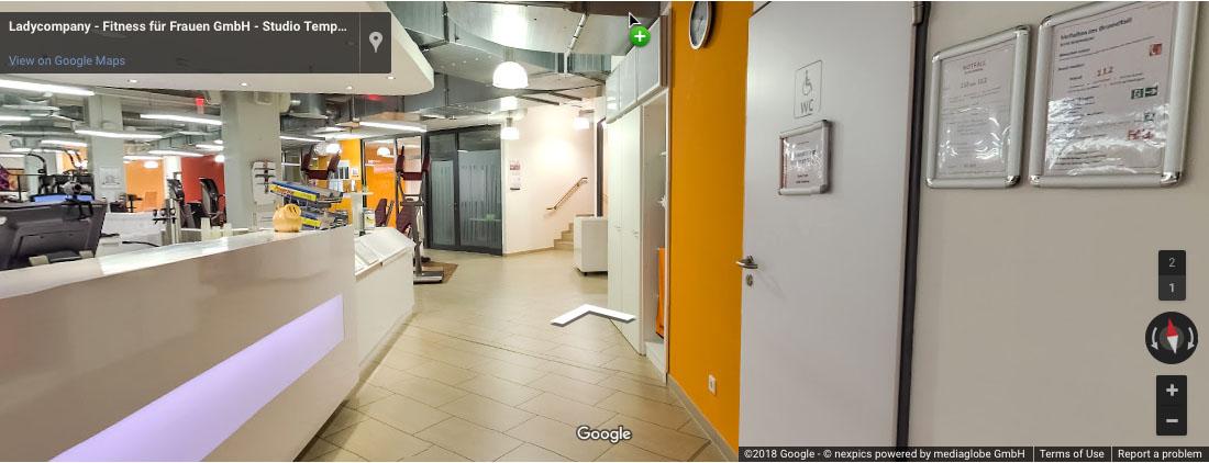 Virtueller Rundgang durch Studio Tempelhof