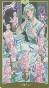 Relationship Energy for Wednesday October 25, 2017 - 7 of Cups
