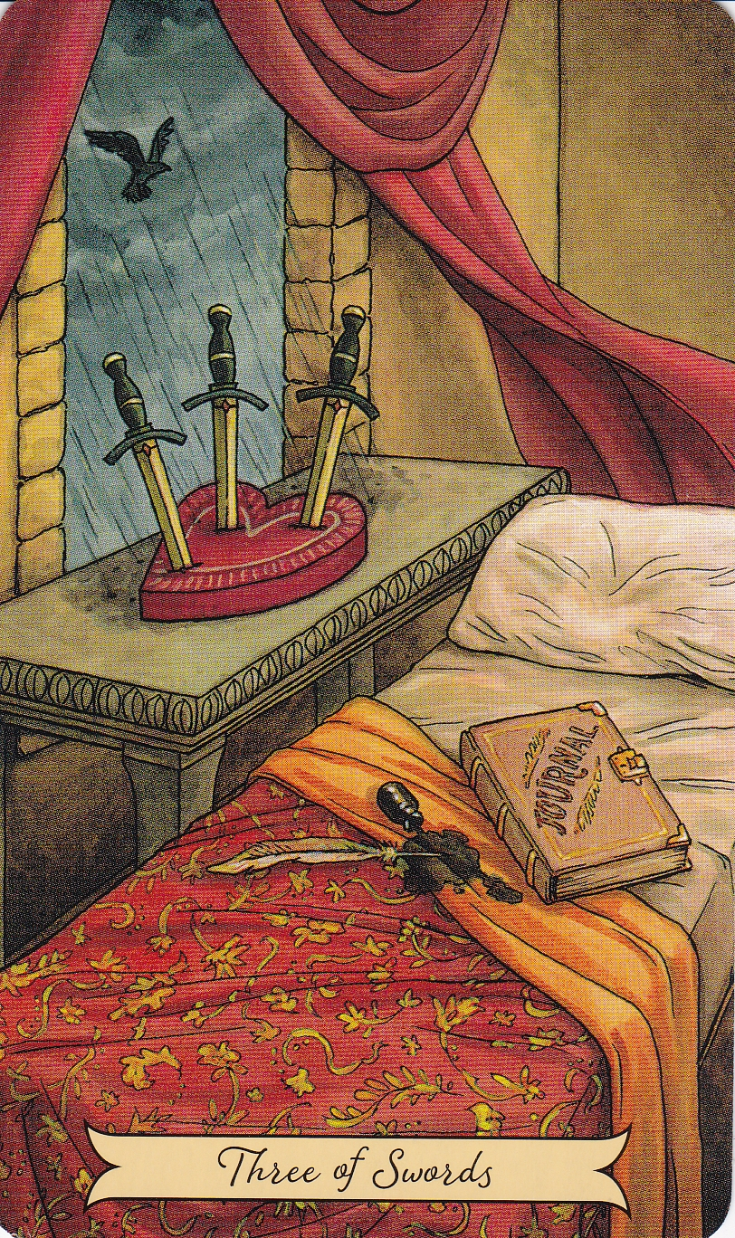 Relationship Energy for Wednesday November 22, 2017 – 3 of Swords
