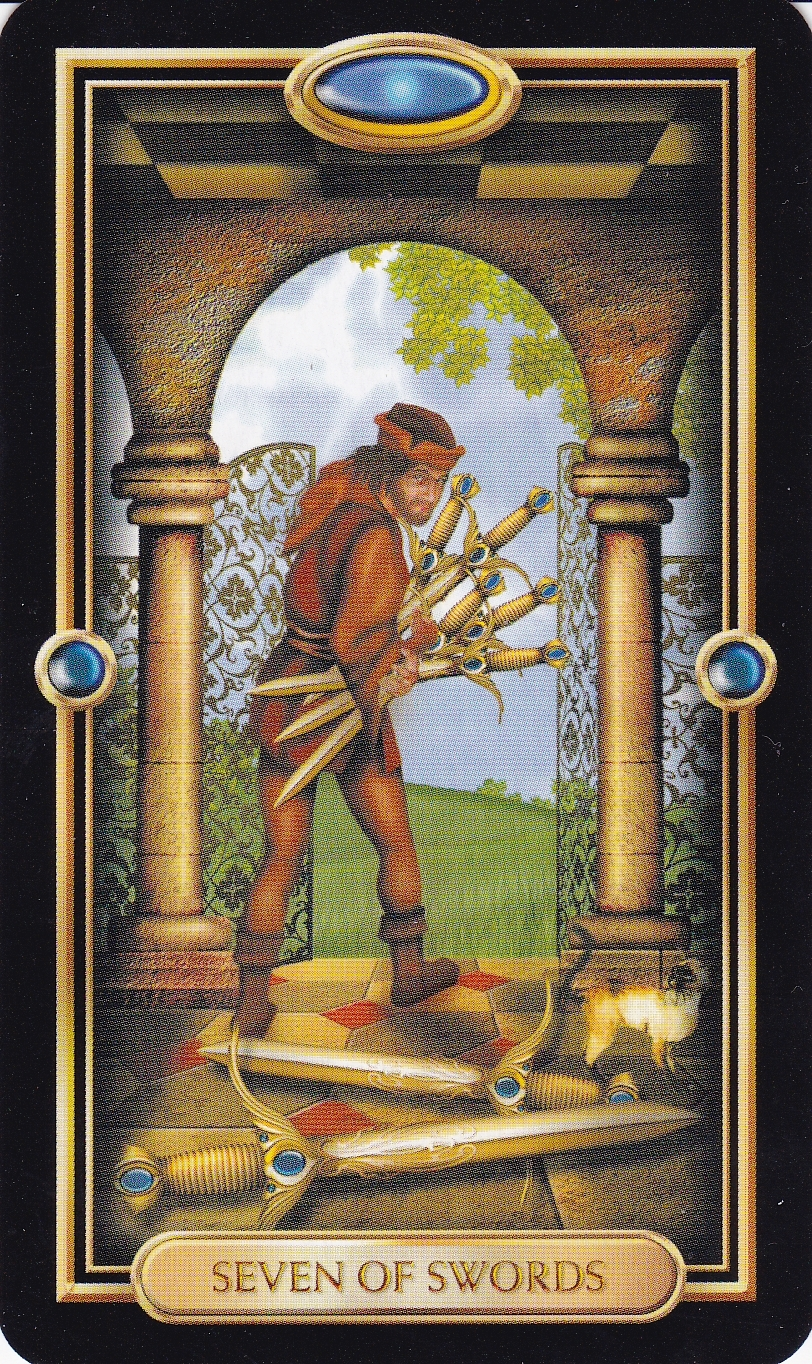 Relationship Energy - Sunday December 10, 2017 - 7 of Swords