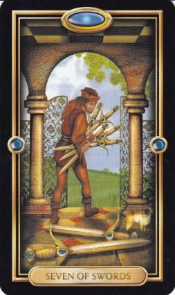 Relationship Energy - Sunday December 10, 2017 - 7 of Swords