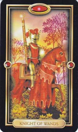 Relationship Energy - Wednesday December 20, 2017 - Knight of Wands