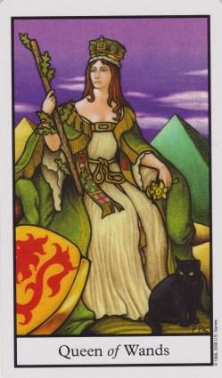 queen of wands relationship