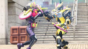 第7話「Some lieの極意!」で初登場となる「仮面ライダーレーザー チャンバラバイクゲーマー レベル3」