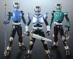 フルアクションフィギュアSAGA 仮面ライダークウガセット
